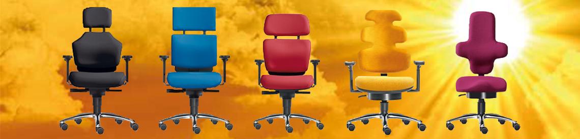 Bürostuhl-Essen - zu unseren Designer Bürostühlen